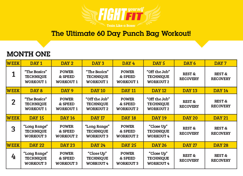 Boxing Workouts With Heavy Bag Workout Men S Fitness