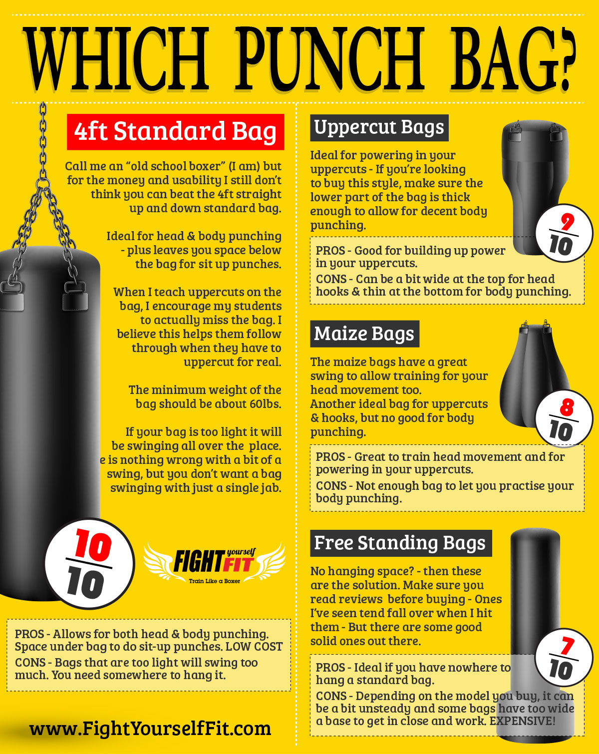 Which Boxing Punching Bag Should I Buy?